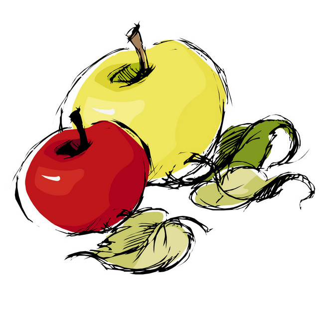 Rittman Orchards apples logo