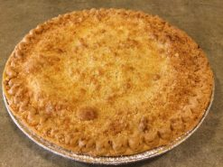 Lemon Crumb Pie