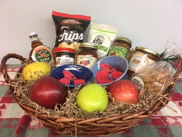 The Apples on Apples gift basket