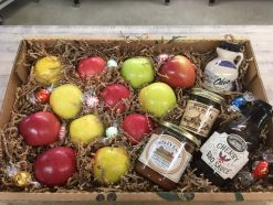 The Ohio Gift Box - Apples, relish, bbq sauce, apple butter, and maple syrup