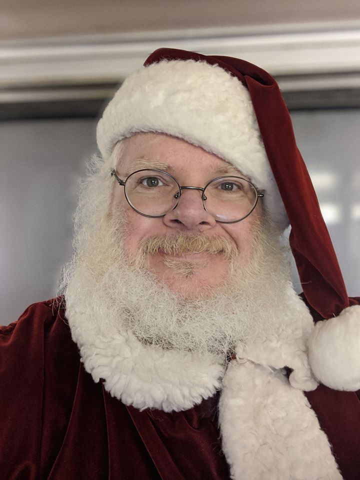 Santa will be here on December 14th